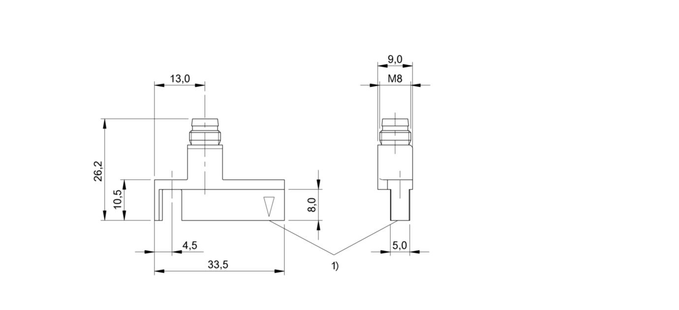 Boîte à outils meubles de verrouillage 19 mm Dia Thread Cylinder Cam Serrure avec clé en usblus