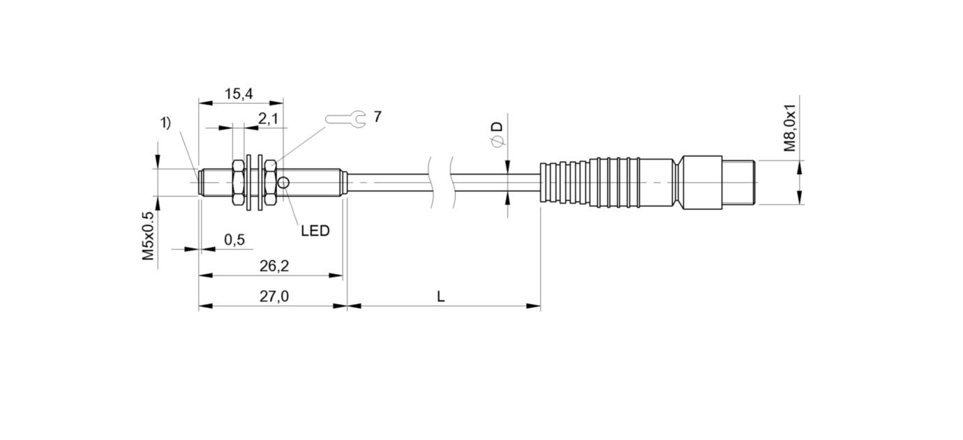 BALLUFF repro Capteur bes516-3005-e4-c-s49-00,3 NEUF neuf dans sa boîte
