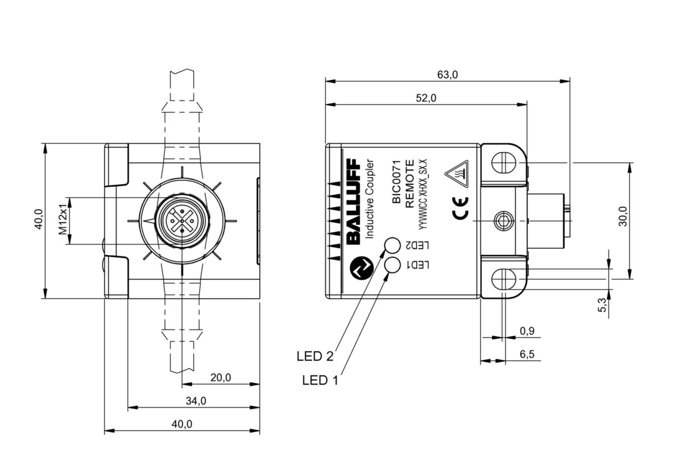BIC0071 - BIC 2B0-ITA50-Q40KFU-SM4A5A - Balluff on