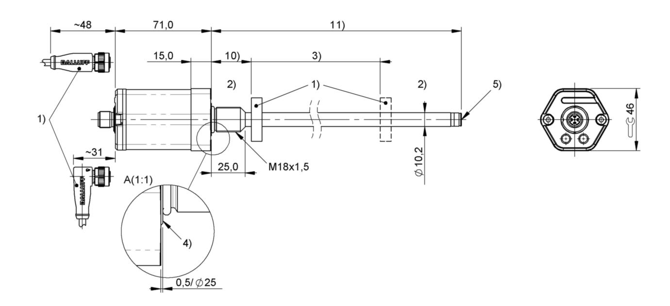 BTL22TR - BTL6-U101-M0200-B-S4 - Balluff on